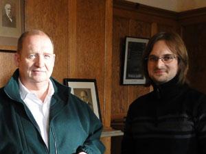 Oliver Schulte und David Wyld, Geschäftführer von Willis.
